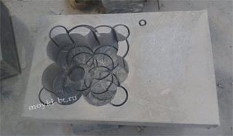 процесс изготовления мойки из натурального гранита